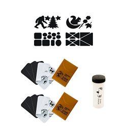 Gear Aid Tenacious Tape Fabric Repair Gear Repair Patches   1.5″ x 2.5″ Mini Repair  ...