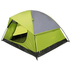 YUEBO Camping Tent Lightweight Waterproof Backpacking Tent Weatherproof 2 Person Double Layer Ra ...