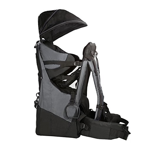 Clevr Deluxe Baby Toddler Backpack Cross Country Lightweight Carrier with Stand Child Kid Sun Sh ...