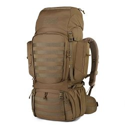 Mardingtop 60L Internal Frame Backpack Tactical Military Molle Rucksack for Camping Hiking Trave ...