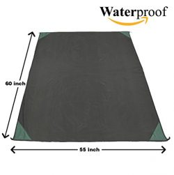 Outdoor Beach Blanket- Sandless and Waterproof Pocket Travel Mat- Best Dust Disappear Adventure  ...