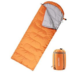 Emonia Camping Sleeping Bag,Three season.Waterproof Outdoor Hiking Backpacking Sleeping Bag Perf ...