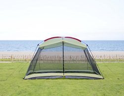 RORAIMA Bugs Proof Roomy Screen House 13'x9'x6.9′, Instant Canopy Shelter Scre ...