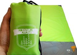 Packable Beach Camping Pocket Blanket – Compact Blanket is Perfect for Beach, Camping, Hik ...