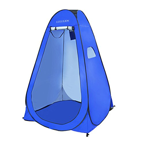 iBaseToy Anti-Peeping Pop up Changing Room, Camping Beach Toilet Shower Tent Portable Outdoor Pr ...