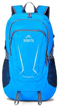 Venture Pal Large 45L Hiking Backpack – Packable Lightweight Travel Backpack Daypack for W ...