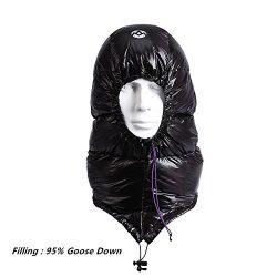 WIND HARD Winter Down Hat Ultra-light Windproof Waterproof Sleeping Bag Trooper Hunting Trapper  ...