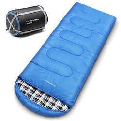NORSENS 0 Degree Celsius Cold Weather Sleeping Bag for Camping, Backpacking, Hiking. Large Outdo ...