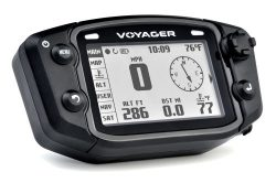 Trail Tech 912-301 Voyager Stealth Black Moto-GPS Computer