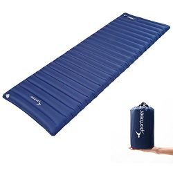 Sportneer Sleeping Pad Inflatable Sleeping Mat 4″ Thickness Air Mattress for Camping Hikin ...