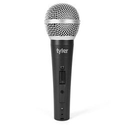 Tyler TMS305-SL Professional Moving Coil Dynamic Vocal Handheld Microphone – Cardioid Unid ...