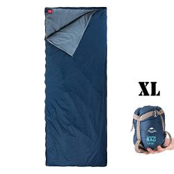 ieGeek Sleeping Bag, Lightweight Envelope Sleeping Bags with Compression Sack Portable Waterproo ...