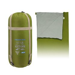 Forbidden Road 380T Nylon Portable Sleeping Bag Single 0 ℃/30 ℉(5 Colors) Lightweight Water Resi ...