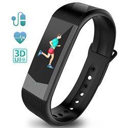 Ironpeas Fitness Tracker Heart Rate Monitor Activity Tracker Fitness Watch Pedometer Sleep Monit ...