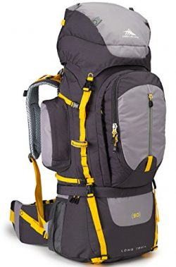 High Sierra Long Trail 90L Top Load Internal Frame Backpack Pack, High-Performance Pack for Back ...