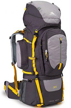 High Sierra Long Trail 90L Top Load Internal Frame Backpack Pack, High-Performance Pack for Back ...