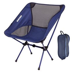 MARCHWAY Ultralight Folding Camping Chair, Portable Compact for Outdoor Camp, Travel, Beach, Pic ...