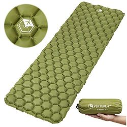 VENTURE 4TH Ultralight Sleeping Pad | Lightweight, Compact, Durable, Tear Resistant, Supportive  ...