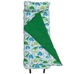Original Nap Mat, Wildkin Children's Original Nap Mat with Built in Blanket and Pillowcase, Pill ...