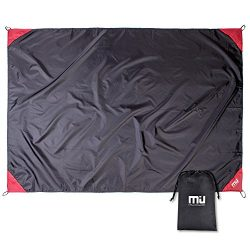 MIU COLOR Outdoor Beach Blanket – Compact Waterproof and Sandproof Lightweight Blanket for ...