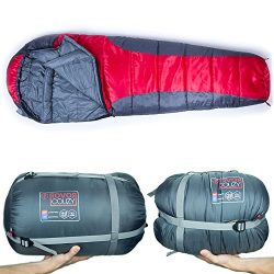 Rovor Couzy 40 Degree Mummy Sleeping Bag with Included Stuff Sack | the Couzy Sleeping Bags for  ...