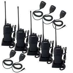 Retevis RT1 10W Two Way Radios Long Range UHF 70CM 400-520 MHz 16CH VOX Scrambler Ham radio and  ...