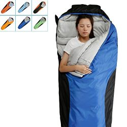 FARLAND Camping Sleeping Bag-Envelope Mummy Outdoor Lightweight Portable Waterproof Perfect for  ...