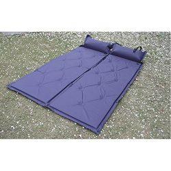 Premium Sleep pad Camp Cushion Super Plush Self-Inflating Air Mattress Camping Gear Air Mat Warm ...