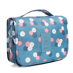 HaloVa Toiletry Bag Multifunction Cosmetic Bag Portable Makeup Pouch Waterproof Travel Hanging O ...