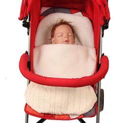 Baby Swaddle, Iuhan Infant Baby Swaddle Sleeping Bag Cute Soft Sleep Sack Stroller Wrap (Beige)