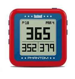 Bushnell Phantom Golf GPS, Red/Blue