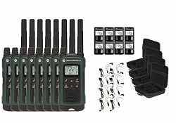 Motorola Talkabout T465 Two-Way Radios / Walkie Talkies – Weatherproof 22 Channels PTT IVO ...
