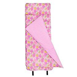 Wildkin Original Nap Mat, Children's Original Nap Mat with Built in Blanket and Pillowcase, Pill ...
