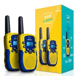 "USA Toyz Walkie Talkies for Kids – ""Vox Box"" Voice Activated Walkie Talkies for Adults and ..."