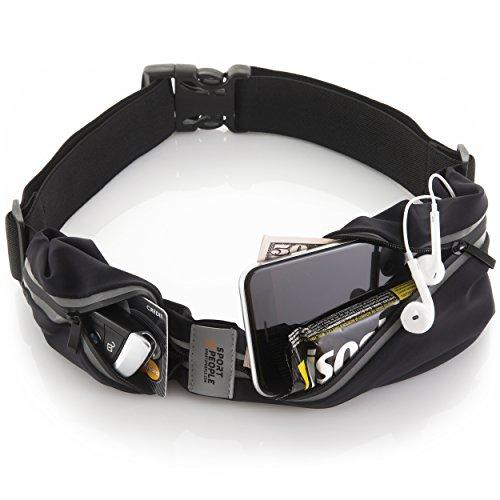 Sport2People Waist Bag for Running Waterproof Waist Pack Best Fitness Gear for Hands-Free Workou ...