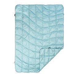 Rumpl The Down Puffy Indoor/Outdoor Blanket, Glacier Blue, 1-Person