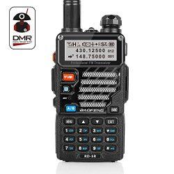 Radioddity x Baofeng RD-5R DMR Ham Amateur Two Way Radio, 136-174/400-470MHz Dual Band Dual Time ...