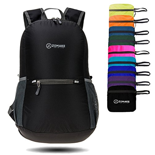 ZOMAKE Ultra Lightweight Packable Backpack Water Resistant Hiking Daypack,Small Backpack Handy F ...