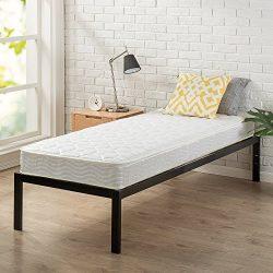 "Zinus Modern Studio 14 Inch Platform 1500 Metal Bed Frame, Cot size, 30"" x 75"", Mattress Foundat ..."