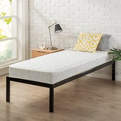 Zinus 6 Inch Spring Mattress, Narrow Twin/Cot Size/RV Bunk/Guest Bed Replacement/30 x 75″