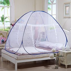 Tailbox Portable Mosquito Net – Sleep Screen Pop-Up Mosquito Net Bed Guard Tent Folding At ...