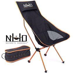 Ultralight Camping Chair – Folding, Compact, Lightweight & Portable. Comfortable Desig ...