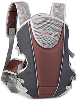 Aidonger 360° Ergonomic Baby & Child Carrier Front Packs (Coffee)