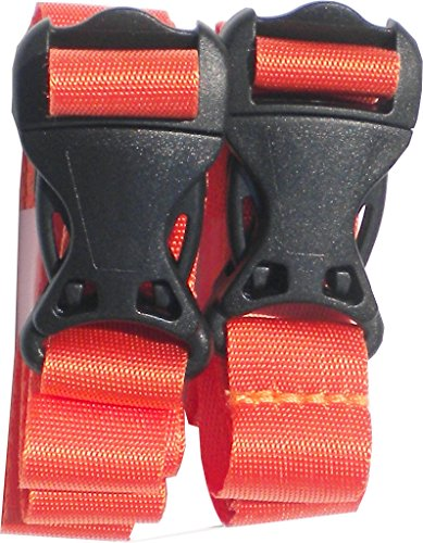 PackYo! Utility Straps/Cinch lash Strap with Quick Release Buckle by Mt Sun Gear. Great for Back ...