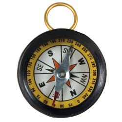 School Specialty Magnetic Field Detection Compass, 13/8″ Diameter (Set of 12)