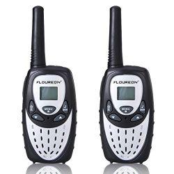 Walkie Talkies for Kids, 22 Channel FLOUREON Walkie Talkies 2 Way Radio Long Range 3000M (MAX 50 ...