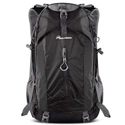 OutdoorMaster Hiking Backpack 50L – Weekend Pack w/Waterproof Rain Cover & Laptop Comp ...