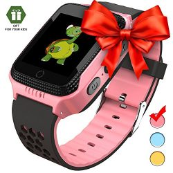 Smart Watch for Kids – Smart Watches for Boys Smartwatch GPS Tracker Watch Wrist Android M ...
