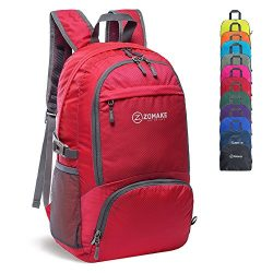 ZOMAKE 30L Lightweight Packable Backpack Water Resistant Hiking Daypack,Small Travel Backpack Fo ...