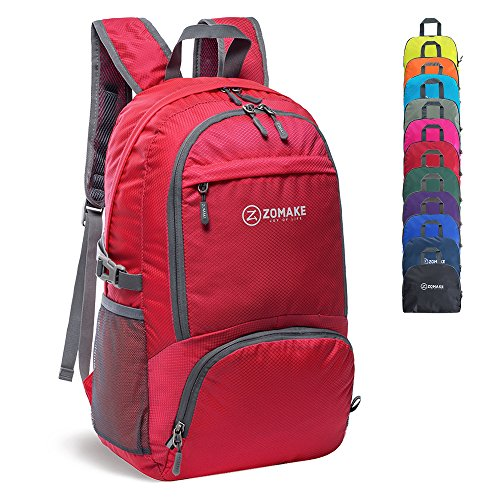 0e7120a5ca0 ZOMAKE 30L Lightweight Packable Backpack Water Resistant Hiking Daypack,Small  Travel Backpack Fo .